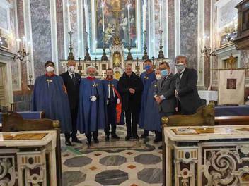 19.03.2021 – Commemorazione di San Giuseppe presso la Cappella Magistrale in Napoli