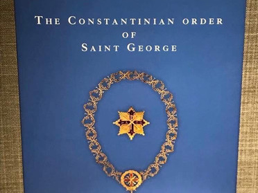 09.04.2020 - L'Ordine Costantiniano di San Giorgio di Guy Stair Sainty online in inglese e spagnolo
