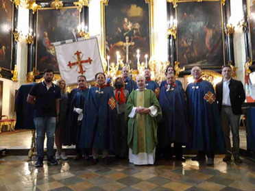 13.06.2021 - Santa Messa mensile dei Cavalieri della Delegazione Piemonte e Valle D'Aosta