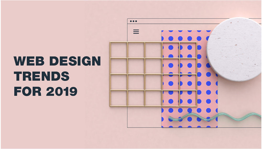 website design trend 2019