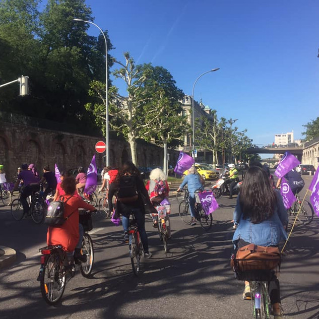 Echappée féministe en vélo 23.05.2019 - 2