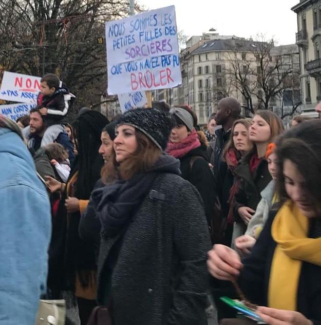 Marche contre les violences sexistes 25.11.2018