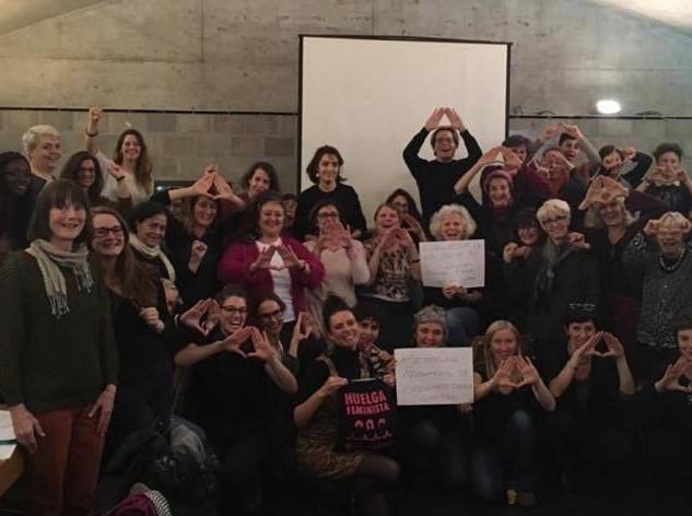 Solidarité avec les féministes espagnoles 05.12.2018