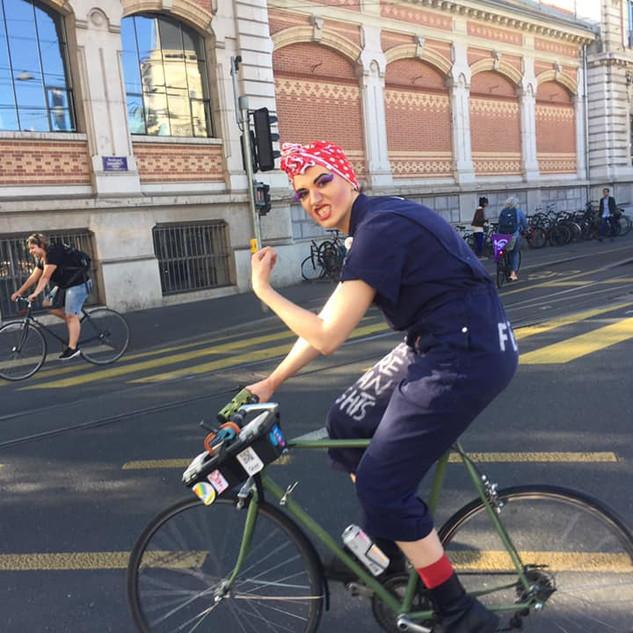 Echappée féministe en vélo 23.05.2019
