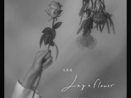 写真展「Lay a flower」開催のおしらせ