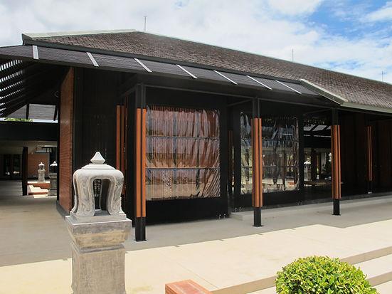 Roman Rain Curtain by Ocean Newline Co.,Ltd.