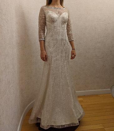 208080 Mermaid Hand Beaded  Wedding Dress