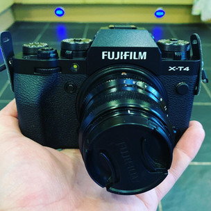 The Fujifilm XT4 has landed!