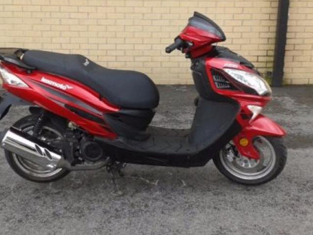 Lexmoto FMS 125 Scooter - Red - WF15 WRN Ref: 5218109969