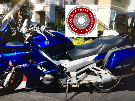STOLEN - YAMAHA FJR1300 - BLUE - Y801 CWN - CRIME REF: AS-20190830-1244
