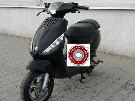 Stolen -W-S-M -  Piaggio Zip - WX53 JKN - BLACK - Crime Ref: 5219135859
