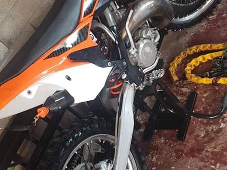 Stolen - Abergavenny - KTM SX150 2013 - Yamaha 125 2004 - Crime Ref:1900101537