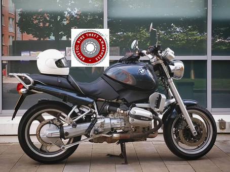 RECOVERED - BMW R850R - T601 DCD - Blue -  CRIME REF: 5219086514
