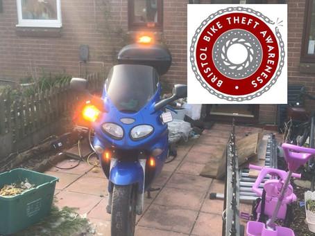 RECOVERED - TRIUMPH SPRINT 955i - HF03 KLM  - Crime Ref: 5219114591