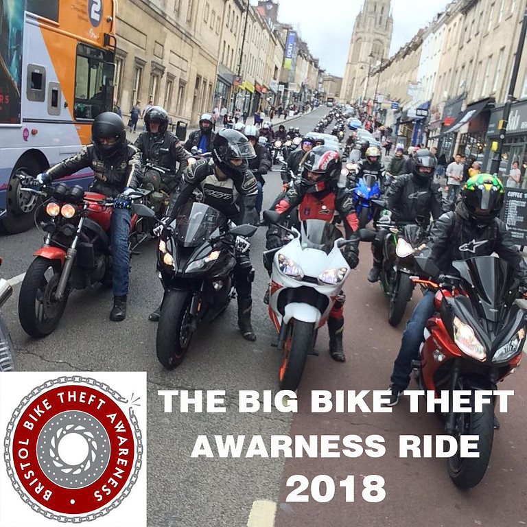 The Big Bristol Bike Theft Awareness 2018