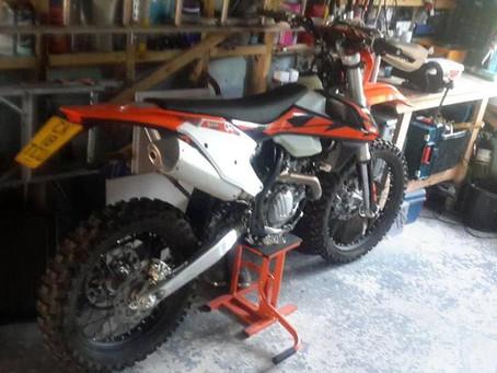 STOLEN - 2 KTM'S - EXCF500 & FREERIDE 350 - Crime Ref: 5218219362