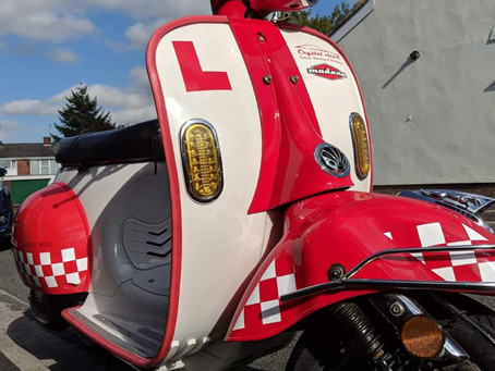 RECOVERED - AJS MODENA 125 - WU16 GXX - Red & White Crime Ref: AS-20181121-1034