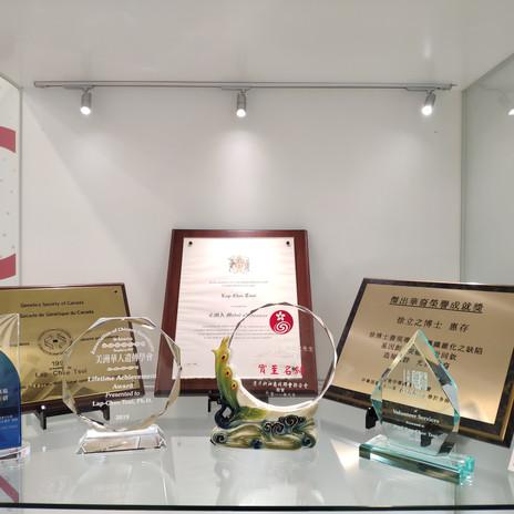 香港科學院創院院長徐立之教授多年來屢獲殊榮,對科學界和社會有巨大貢獻 (ASHK President and Founding Member Prof TSUI Lap-Chee received multiple accolades over the years. He has great contribution to Science and the society)