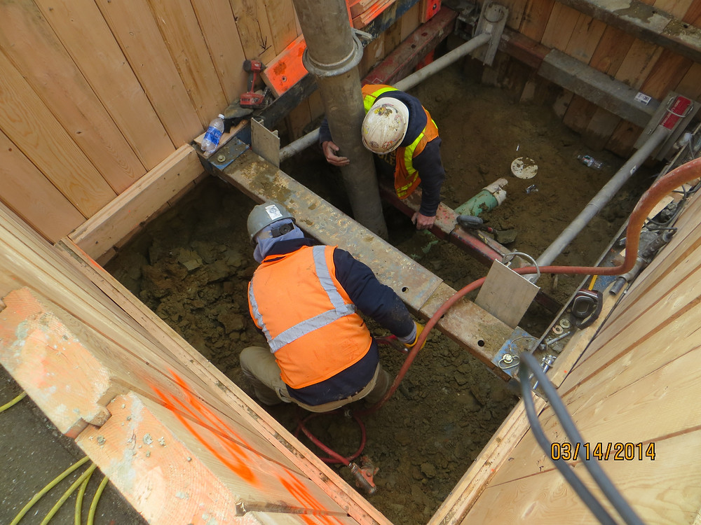 Major sewer repair, sewer inspection