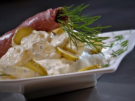 Salade met pastrami en Session IPA