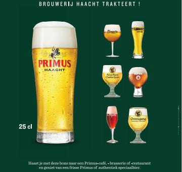 Brouwerij Haacht geeft nationale Tournée Générale om horeca (en consument) te steunen