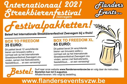 Festivalpaketten Bierfestival Zwevegem