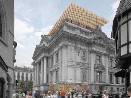 Brusselse regering maakt 5,5 miljoen vrij voor renovatie Brussels Beursgebouw