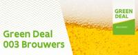 Brouwers sluiten Green Deal