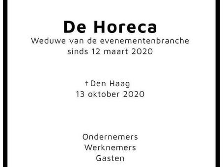 Nederlandse HORECA en Evenementenbranche in lock down