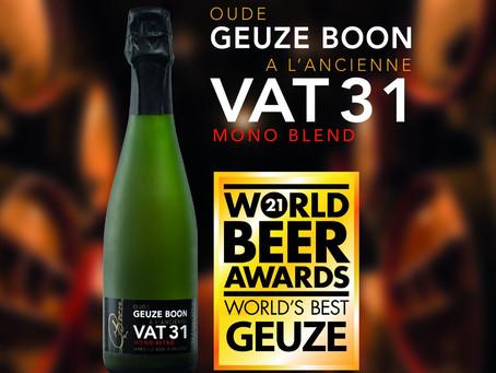 VAT 31 van BOON wereldkampioen