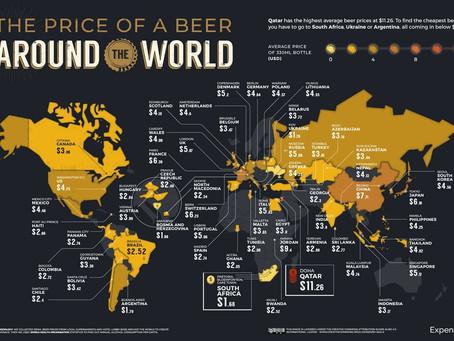 Wereldse Bierprijzen