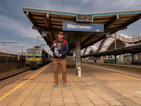 Eerste trein op Gouden Carolus 2021