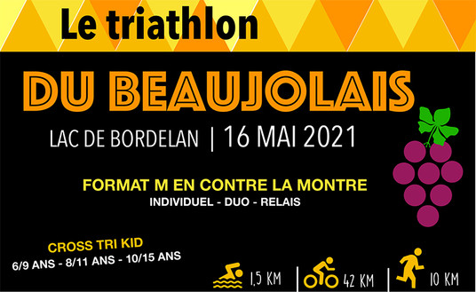 Triathlon du beaujolais 2021