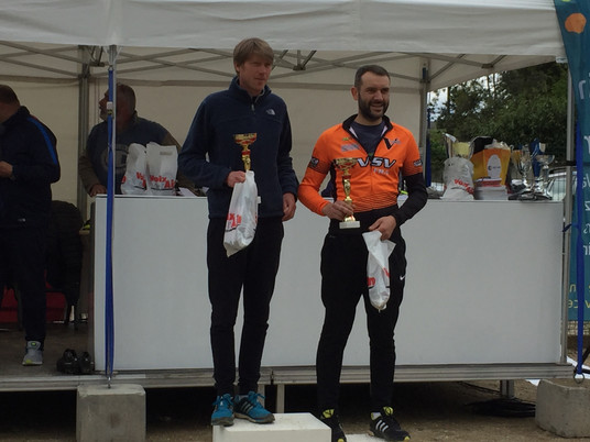 De l'orange au Duathlon de Guereins