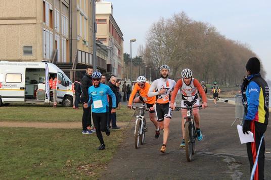 Bike & Run de Macon : Une belle 5éme place pour le TVSV