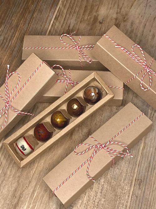 doosje van 5 bonbons