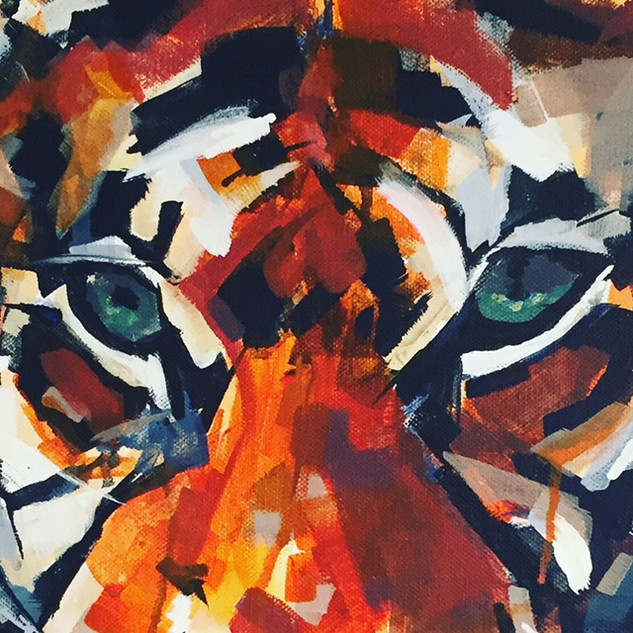 Close Up, Tiger