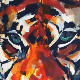 Close Up, Tiger