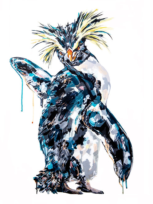 Penguin - Limited Edition Print