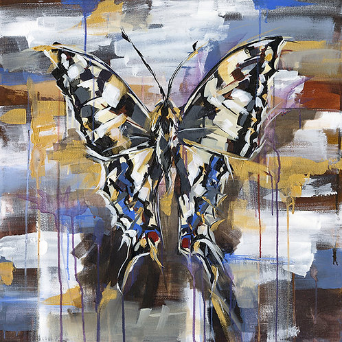 Clover Butterfly  - Limited Edition Print
