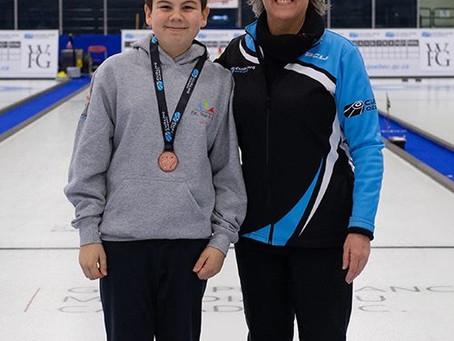 Un de nos juniors se distingue à la finale TIC, TAP et TOC de Curling Québec