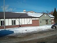 Vue extérieure club de curling Kénogami