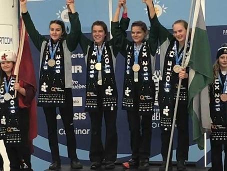 Médaille d'or en curling féminin au Jeux du Québec