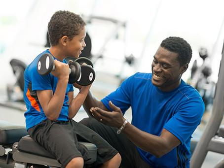 Musculação é Coisa de Criança?