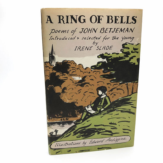 A Ring of Bells by John Betjeman / Edward Ardizzone 1st / 1st 1962