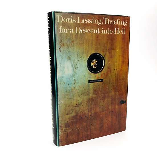 Briefing for a Descent into Hell Signed by Doris Lessing 1st / 1st 1971