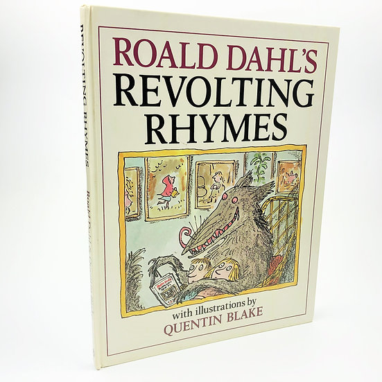 Revolting Rhymes by Roald Dahl 1st / 1st 1982