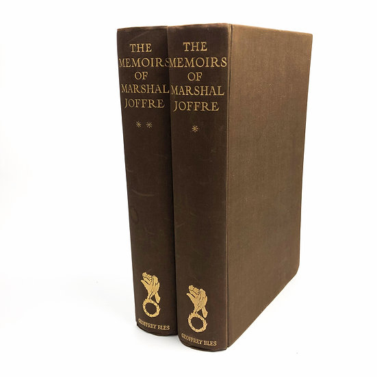 The Memoirs of Marshal Joffre 1st / 1st 1932