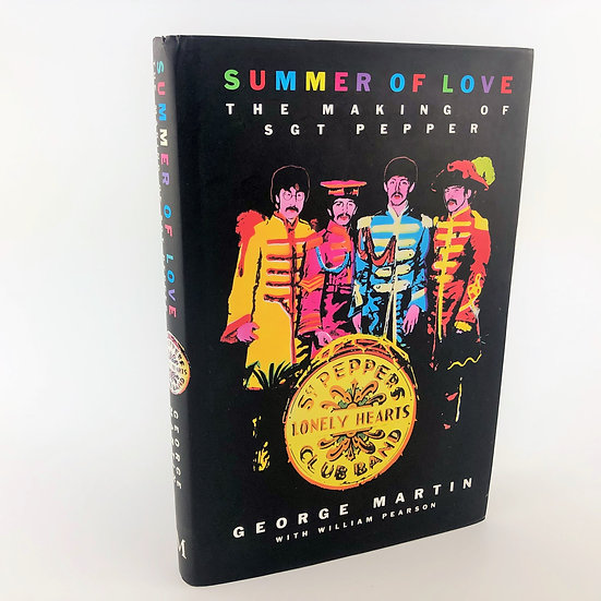 Summer of Love: the making of Sgt Pepper SIGNED by George Martin 1st / 1st 1994: