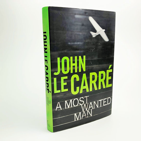 A Most Wanted Man Signed by John Le Carre 1st / 1st 2008